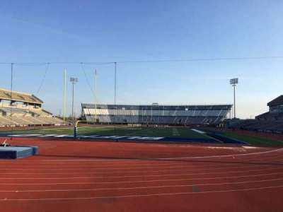 UB Stadium, section: 116, row: A, seat: 1