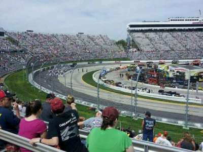 Martinsville Speedway section Ll