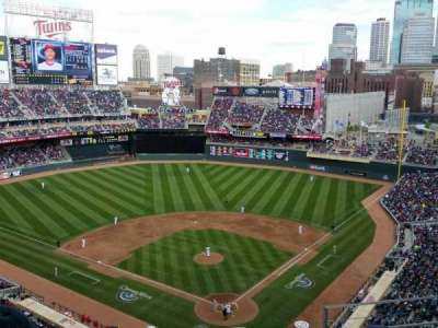Target Field, section: 316, row: 5, seat: 3