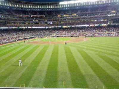 Target Field, section: 134, row: 3, seat: 3