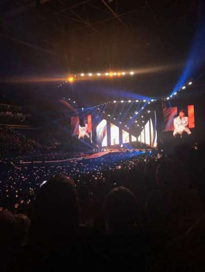 The O2 Arena section 110
