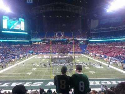 Lucas Oil Stadium, section: 227, row: 5, seat: 15