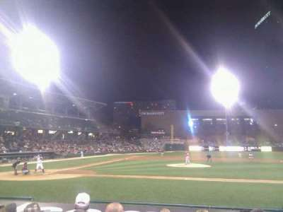 Victory Field, section: 114, row: k, seat: 22