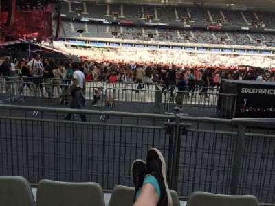 Stade De France, section: S7, row: 3 (front row, seat: 18