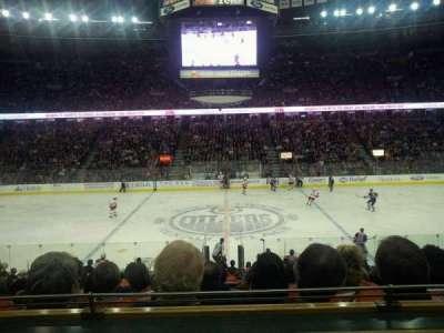 Northlands Coliseum, section: executive suite 109, row: 1, seat: 10