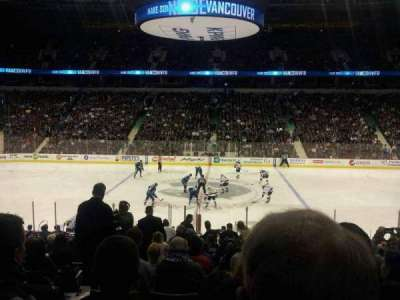 Rogers Arena, section: 117, row: 19, seat: 3