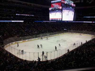 Pepsi Center, section: 210, row: 1, seat: 5