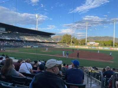 Smith's Ballpark, section: 7, row: 15, seat: 1