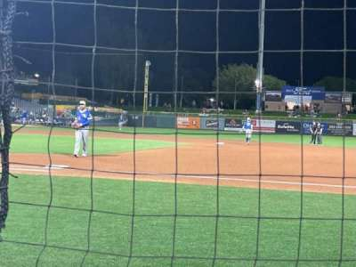 Smith's Ballpark, section: 7, row: 1, seat: 1