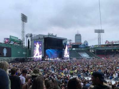 Fenway Park, section: Loge Box 155, row: LL, seat: 5