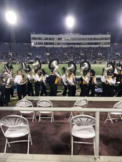 Ladd Peebles Stadium, section: R, row: 3, seat: 20