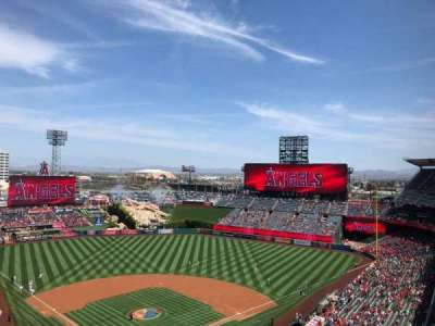 Angel Stadium, section: V522, row: F, seat: 11