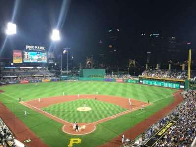 PNC Park, section: 216, row: A, seat: 5