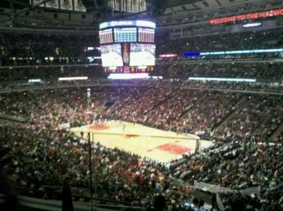 United Center section BMO Harris Club