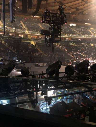 Madison Square Garden section 114