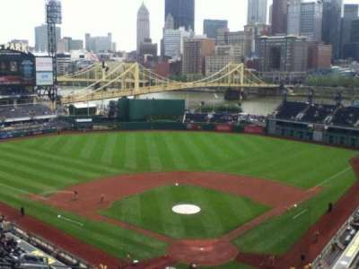 PNC Park, section: 317, row: P, seat: 9