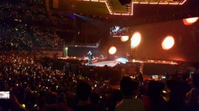 The O2 Arena, section: 112, row: H, seat: 365