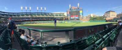 Comerica Park, section: 114, row: 3, seat: 9