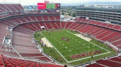Levi's Stadium, section: 402, row: 22, seat: 10