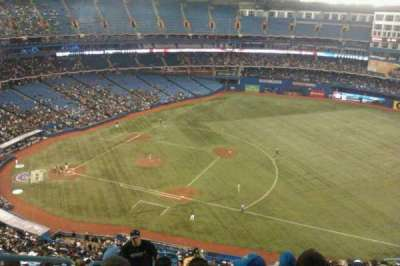 Rogers Centre, section: 516R, row: 20, seat: 2