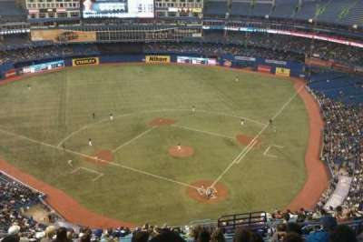 Rogers Centre, section: 525L, row: 21, seat: 106