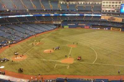 Rogers Centre, section: 518R, row: 6, seat: 4
