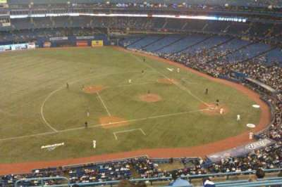Rogers Centre, section: 531R, row: 8, seat: 1