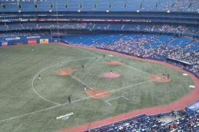 Rogers Centre, section: 533, row: 2, seat: 9