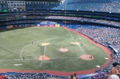 Rogers Centre, section: 529R, row: 15, seat: 5