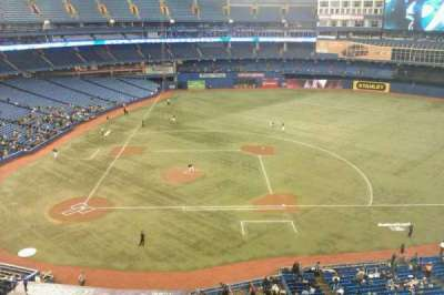 Rogers Centre, section: 519, row: 2, seat: 103