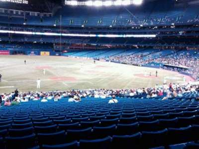 Rogers Centre, section: 128R, row: 40, seat: 4
