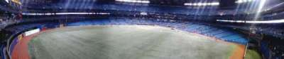 Rogers Centre, section: 244, row: 1, seat: 106
