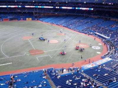 Rogers Centre, section: 531, row: 1, seat: 3