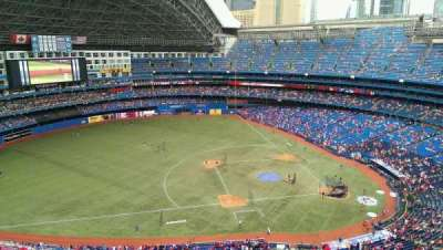 Rogers Centre, section: 531, row: 21, seat: 03