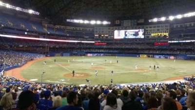 Rogers Centre, section: 120R, row: 34, seat: 6