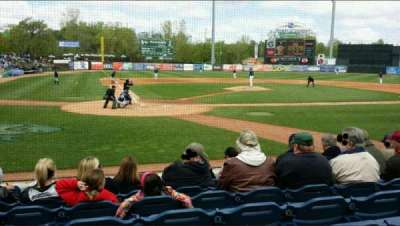 Fifth Third Ballpark, section: 114, row: 7, seat: 16