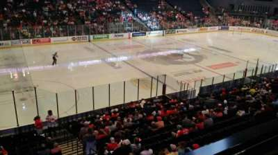 Van Andel Arena, section: 224, row: A, seat: 3