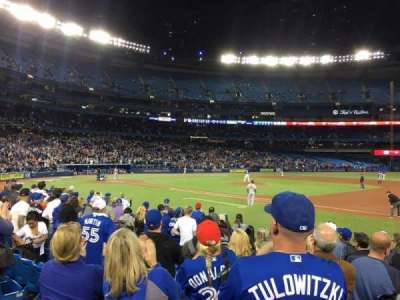 Rogers Centre, section: 115L, row: 10, seat: 9