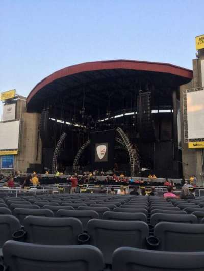 Jones Beach Theater, section: G, row: TT, seat: 6