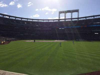 Citi Field, section: 101, row: 5, seat: 25