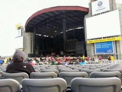Jones Beach Theater, section: G, row: SS, seat: 17