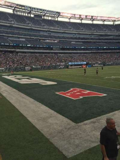 MetLife Stadium, section: 121, row: 2, seat: 5