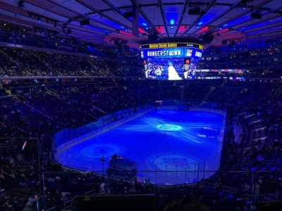 Madison Square Garden section 219