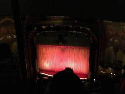 New Amsterdam Theatre section Balcony R