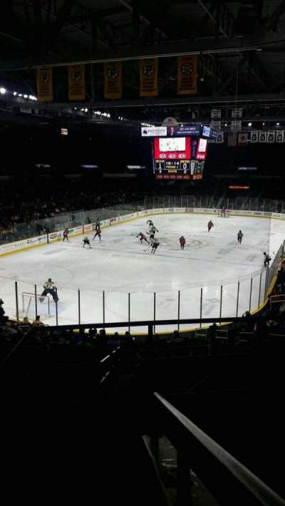 Dunkin' Donuts Center, section: 239, row: E, seat: 1