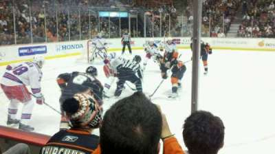 Honda Center, section: 210, row: C, seat: 6