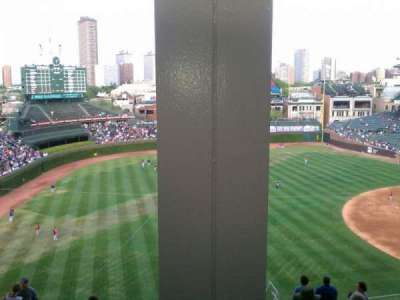 Wrigley Field section 405L