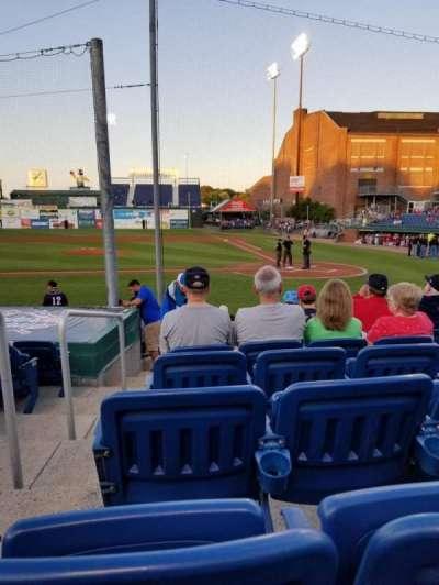 Hadlock Field, section: 109, row: M, seat: 13