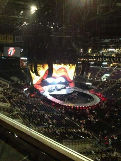 Staples Center, section: 315, row: 2W, seat: 1