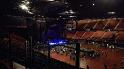 The Forum, section: 230, row: 2, seat: 5